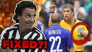 10 Football Matches You Didn't Know Were FIXED! - Video