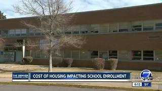 Lack of affordable housing causing student numbers to drop at Denver Public Schools - Video
