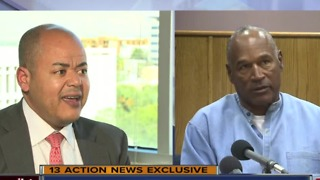 O.J. Simpson's attorney Malcome Laverne talks about parole in exclusive interview - Video