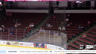 Fans return to Condors games for first time in over a year