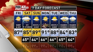 Claire's Forecast 5-25 - Video