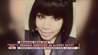 Missing Milwaukee woman Audrey Scott's remains found - Video