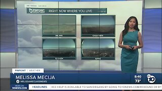 ABC 10News Pinpoint Weather for Sat. Sept. 19, 2020