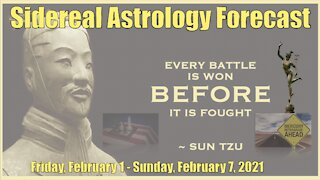 Sidereal Astrology Forecast: Week of February 1-7, 2021