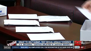 New sexual assault grant program