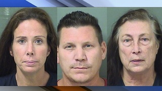 3-year-old removed from accused family of heroin users; 3 arrested - Video