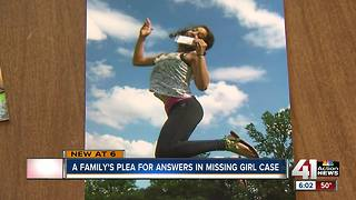 A family's plea for answers in missing girl's case - Video