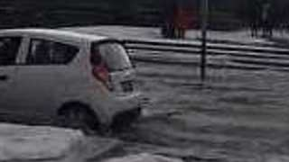 Flash Flooding Hits Mexico City After Hailstorm - Video