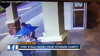 Hundreds stolen from Sarasota veterans group - Video