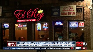 A proposed Delano ordinance could mean fines for businesses, residents explained