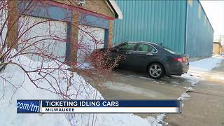 New proposal would allow police to ticket idling cars on private property - Video