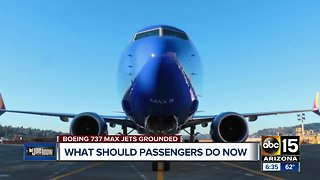 What passengers should do if plane grounded