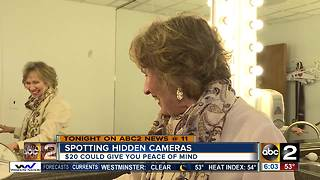 Spotting hidden cameras - Video