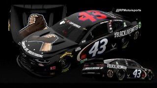 NASCAR driver Bubba Wallace's car will feature a Black Lives Matter paint scheme