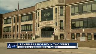 Social media threat forces Racine to close McKinley Middle School - Video