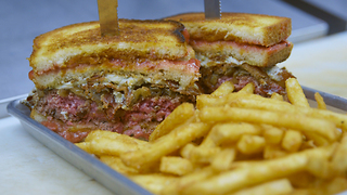 You've Been Waiting Your Whole Life to Face San Diego's The Kraken Burger - Video