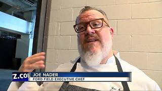 Ford Field unveils new menu, featuring more Detroit foods - Video