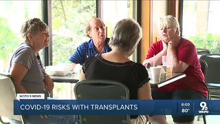 Transplant survivors discover risks, support during COVID-19 pandemic