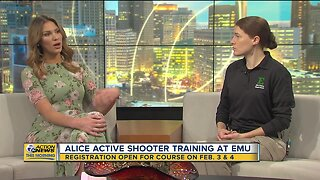 ALICE Active Shooting Training at EMU