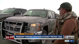 President Trump pardons ranchers in case that sparked Bundy protest - Video