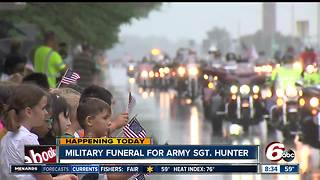 Funeral and visitation held in Columbus for fallen soldier - Video