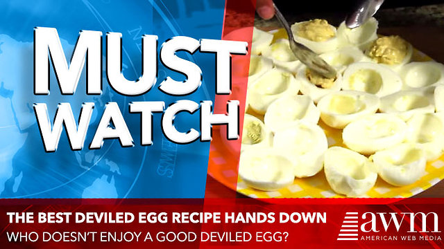 This Might Be The Best Deviled Eggs Recipe You Will Ever Find - Video