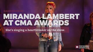 Miranda Lambert at CMA Awards | Rare Country - Video