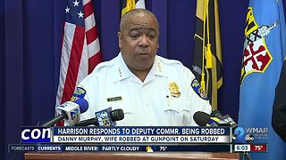 Commissioner Harrison responds to Deputy Commr. being robbed