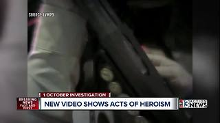 Body cameras reveal 1 October heroics - Video