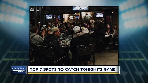 Top 7 spots to catch Monday Night Football
