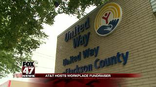 United Way gets donation from AT&T - Video