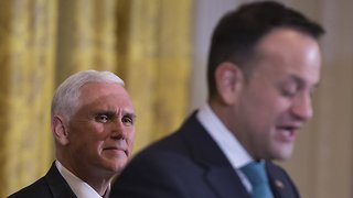Mike Pence Reportedly Asked For A Closed Event With Ireland's PM - Video