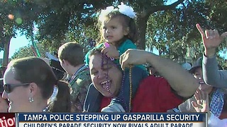 Tampa police stepping up Gasparilla security