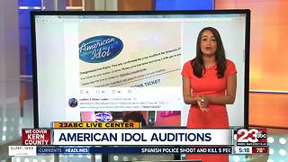 American Idol Auditions in Oakland - Video