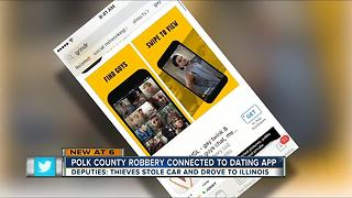 Polk Co. robbery connected to dating app - Video
