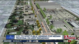 City to host public hearing for West Broadway median proposal