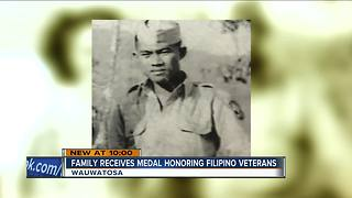 Wauwatosa family honored with Congressional Gold Medal of Honor - Video