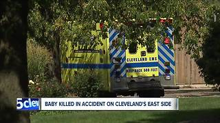 Baby killed in crash on Cleveland's east side - Video