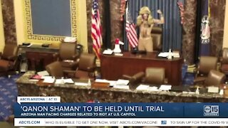 'Q Shaman' Jacob Chansley to remain jailed pending Capitol riot trial