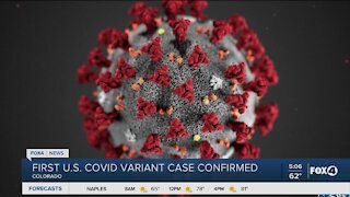 First case of new covid variant in the US