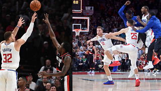 Blake Griffin DRAINS Game Winning 3 Point Buzzer Beater vs Trail Blazers - Video