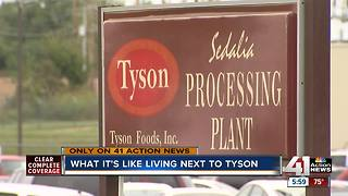 What it's like living next door to a Tyson plant - Video