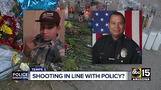 Did Tempe officer violate use of force policy?