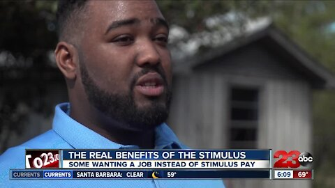 The real benefits of the stimulus