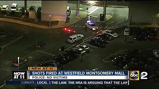 Shots fired at Westfield Montgomery Mall - Video