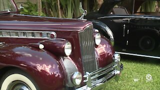 'Sculpture in Motion' classic car event held in West Palm Beach
