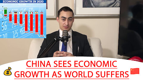 🔴 CHINA SEES ECONOMIC GROWTH AS WORLD SUFFERS 💰 🇨🇳