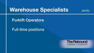 Who's Hiring: Warehouse Specialists