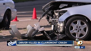 Driver killed in Clairemont crash