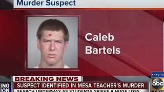Police identify suspect in Mesa math teacher homicide - Video